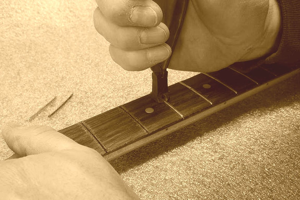 Replacing worn out frets