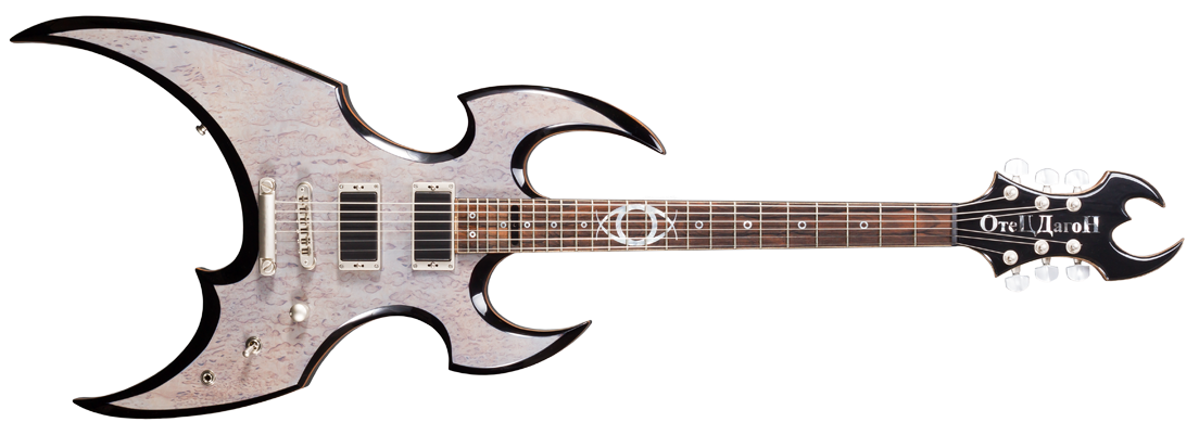 dagon asymmetric beast of the east series extreme metal guitars schloff guitars handbuilt. Black Bedroom Furniture Sets. Home Design Ideas
